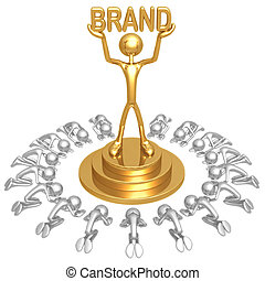 Brand Worship - 3D Concept And Presentation Figure