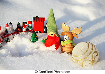 Christmas time with toys