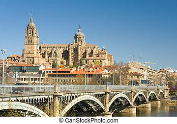 View of Salamanca, Castilla y Leon (Spain)
