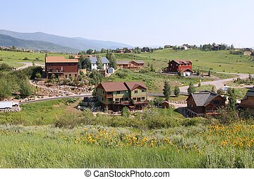 Steamboat Springs, town in Colorado, United States
