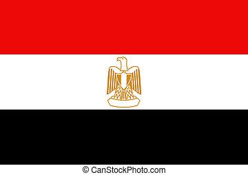 Flag Egypt - Creative design of flag Egypt