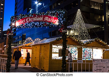Denver Christkindl Market - Entrance to Denver Christkindl...