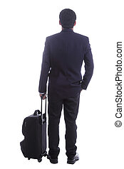business travelers Standing for wait something ,include...