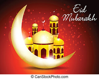 abstract eid background vector