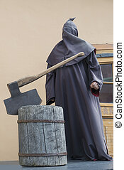 Executioner - The model of the executioner in an ekpozition...