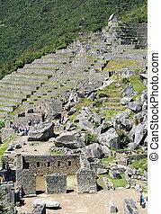 View of Inca City of Machu Picchu - View of Inca City of...
