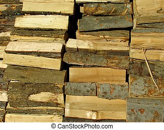 woodpile - close-up woodpile