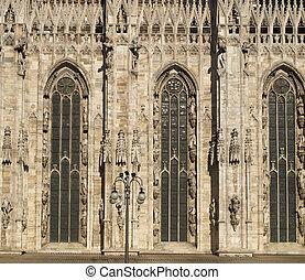 Milan duomo - Milan Cathedral Duomo di Milano, in Italy