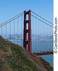 golden gate bridge, San Fransisco - Golden gate bridge in...
