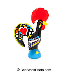 Barcelos Rooster. Portugal - Traditional Ceramic Rooster...