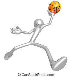 Basketball - 3D Concept And Presentation Figure