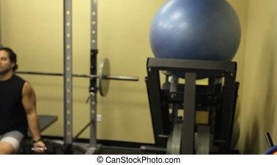Female Portrait in Gym 2
