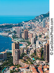 Monte Carlo view on summer day