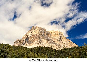 Dolomites - View of Dolomites mountains in Trentino Alto...