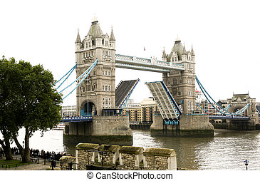 London Tower Bridge - Opening London Tower Bridge in the...