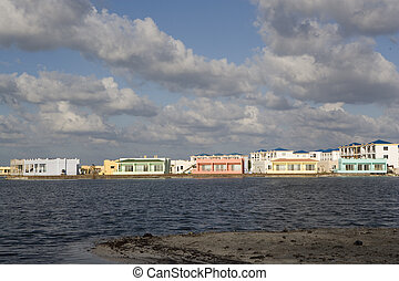 New Housing Development - A new and colorful housing...