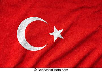 Ruffled Turkey Flag