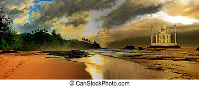 THE GOLDEN PATH - Beautiful light along this beach leads to...