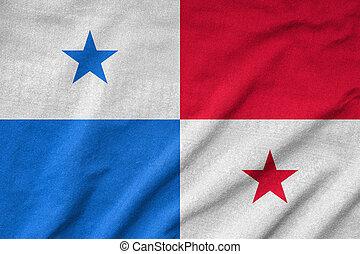 Arrugar, Panamá, bandera