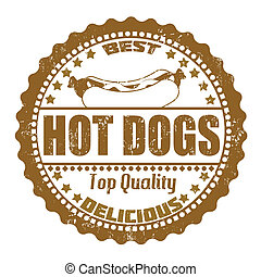 Hot Dogs stamp