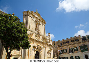 Saint Dominic in Malta - The Church Saint Dominic in Rabat,...