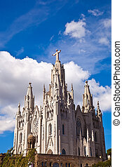 Jesus Christus Statue by Josep Miret at Expiatory Church of...