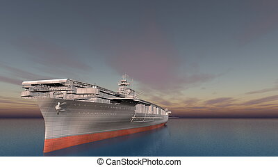 aircraft carrier  - image of aircraft carrier