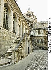 old city - Bergamo old city, Italy