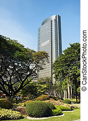 Philippine Stock Exchange Building, Manila - Philippines -...