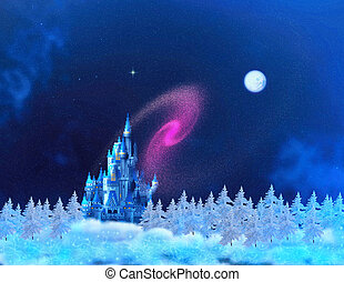 THE NORTH POLE - The fairy tale castle of Santa Claus.