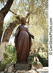 Statue of The Virgin Mary Ephesus Turkey
