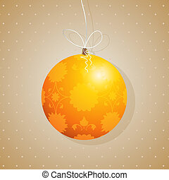 Tree decoration card