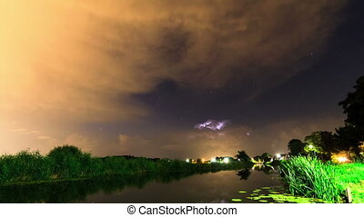 Thunderstorm timelapse - Beautiful FULL HD 30fps time lapse...