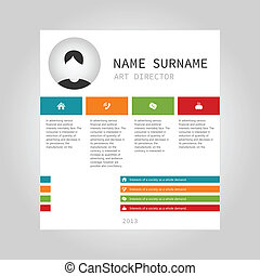 Info graphic person - Info graphic on a theme the Internet...