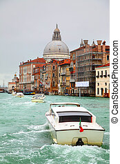 Grand Canal in Venice - Vew of Grand Canal in Venice, Italy