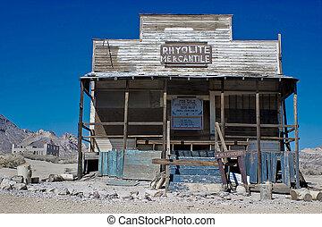 Ryolite Saloon