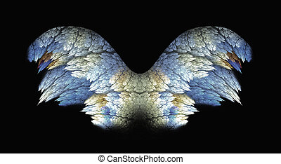Angel Wings Silver and Gold