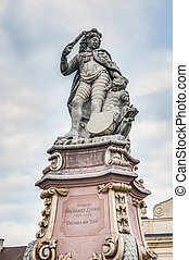 Duke Eberhard Ludwig in Ludwigsburg, Germany - Statue of...