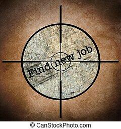 FInd new job target