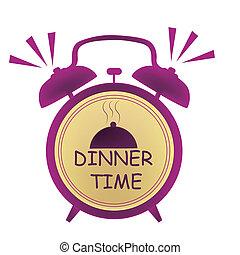 dinner time clock