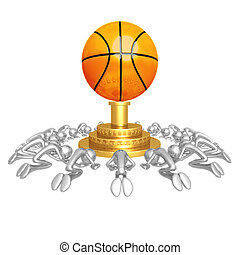 Basketball Worship - 3D Concept And Presentation Figure