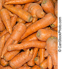 Carrot background.