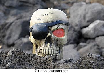 pirata, cranio