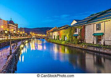 Otaru Canals - Canals of Otaru, Japan.