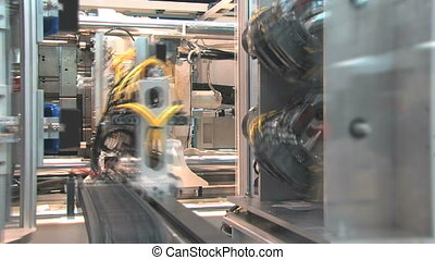 Industrial Robotics 6 - Automated machinery from a factory