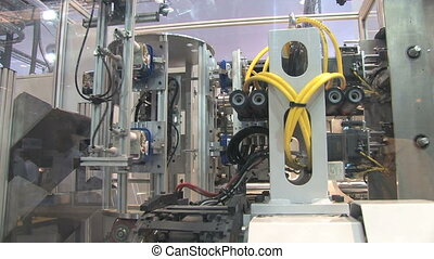 Industrial Robotics 8 - Automated machinery from a factory...