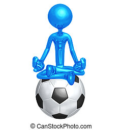 Soccer Football Guru - 3D Concept And Presentation Figure