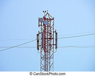 mobil,  signal, mottagande, företag, Torn