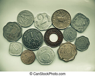 Different types of Indian currency, Antique coins