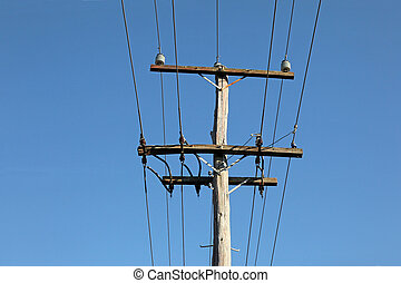 Old power pole